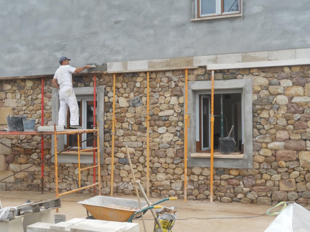 Brez ayom construcciones - Aplacados de piedra ...