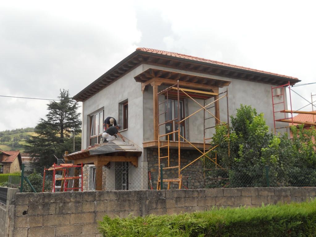 Brez ayom construcciones for Tejados de madera construccion